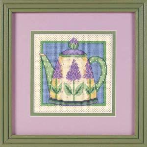 """Набор для вышивания DIMENSIONS """"Сиреневый чайник"""" DMS-07212 (гобелен)"""