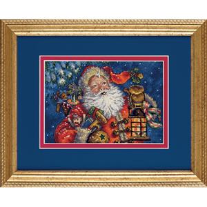 "Набор для вышивания DIMENSIONS ""Ночной Санта"" Dimensions DMS-70-08865 (крестик)"