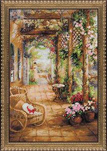 """Набор для вышивания """"Свидание в саду"""" Риолис СС-100/043 (крестик)"""