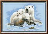 """Белые медведи"" Риолис 1033 (крестик)"