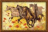"""""""Табун лошадей"""" Риолис 1064 (крестик)"""