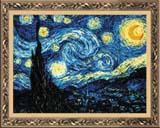 """""""Ван Гог """"Звёздная ночь"""""""" Риолис 1088 (крестик)"""
