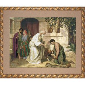 """Набор для вышивания  """"Возвращение блудного сына"""" Краса и творчество 11010 (крестик)"""