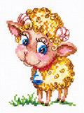 """Набор для вышивания """"Золотой барашек"""" Чудесная игла ЧИ-18-74"""