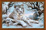 """""""Бенгальский тигр"""" Риолис 1184 (крестик)"""