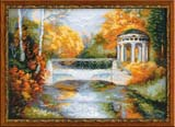 """Осенний парк"" Риолис 1195 (крестик)"