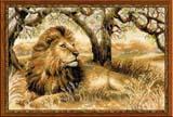 """""""Царь зверей"""" Риолис 1261 (крестик)"""