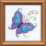 """Чудесная бабочка"" Риолис 1264 (бисер)"
