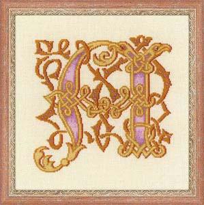"""Буквица А"" Риолис 1291 (крестик)"