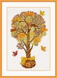 """""""Денежное дерево"""" Риолис 1294 (крестик)"""