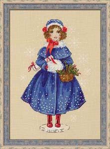 """""""Кукла Мари"""" Риолис 1312 (крестик)"""