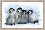 """""""Забавные пингвины"""" Риолис 1323 (крестик)"""