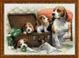 """Собачье семейство"" Риолис 1328 (крестик)"
