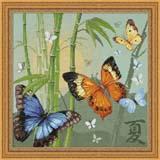 """""""Бабочки"""" Риолис 1336 (крестик)"""