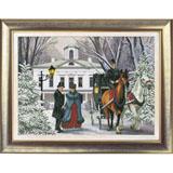 "Набор для вышивания ""Времена года. Зима"" Краса и творчество 20112 (крестик)"