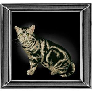 """Американская короткошерстная кошка"" Краса и творчество 20912 (крестик)"