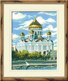 """Храм Христа Спасителя"" Риолис 303 (крестик)"