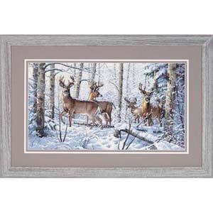 "Набор для вышивания DIMENSIONS ""Зима в лесу"" DMS-35130 (крестик)"