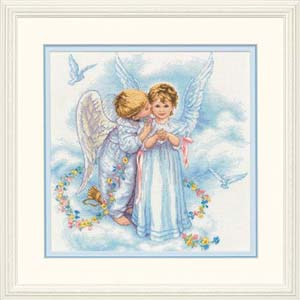 """Набор для вышивания DIMENSIONS """"Ангельские поцелуи"""" DMS-35134 (крестик)"""