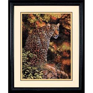 "Набор для вышивания DIMENSIONS ""Взгляд леопарда"" DMS-35209 (крестик)"