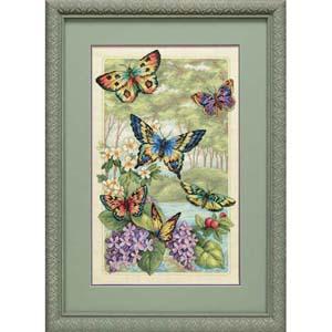 """Набор для вышивания DIMENSIONS """"Лес бабочек"""" DMS-35223 (крестик)"""
