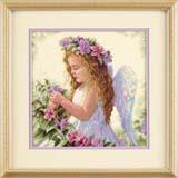 """Набор для вышивания DIMENSIONS """"Цветочный ангел"""" DMS-35229 (крестик)"""