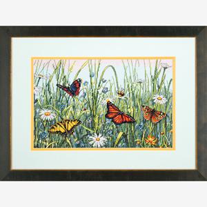 """Набор для вышивания DIMENSIONS """"Поле бабочек"""" DMS-70-35271 (крестик)"""