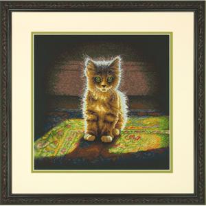 """Набор для вышивания DIMENSIONS """"Нежный пушистый котенок"""" DMS-70-35286 (крестик)"""