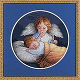 """Набор для вышивания DIMENSIONS """"Ангел"""" DMS-03873  (крестик)"""