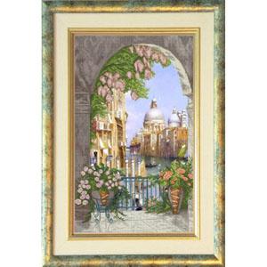 """Набор для вышивания """"Венецианская сказка 1"""" Краса и творчество 41012 (крестик)"""