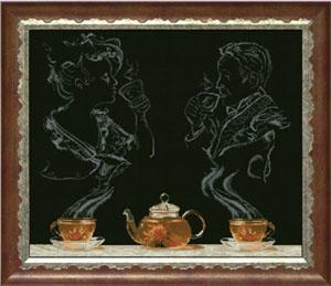 """Набор для вышивания """"Чайная фантазия 1"""" Краса и творчество 50513 (крестик)"""