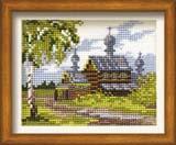 """Лето в деревне"" Риолис 630 (крестик)"