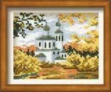 """""""Осень в деревне"""" Риолис 631 (крестик)"""