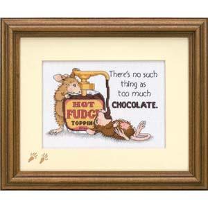 """Набор для вышивания DIMENSIONS """"Горячий шоколад"""" DMS-65001 (крестик)"""