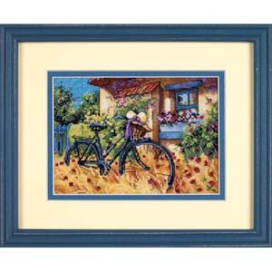 """Набор для вышивания DIMENSIONS """"Велосипедное утро"""" DMS-65077 (крестик)"""
