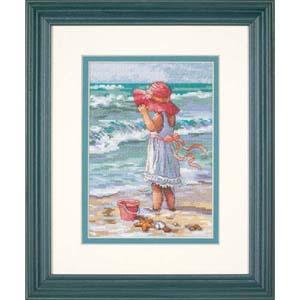 "Набор для вышивания DIMENSIONS ""Девочка на берегу"" DMS-65078 (крестик)"