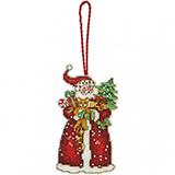 "Набор для вышивания Dimensions ""Украшение Санта"" DMS-70-08895 (крест)"