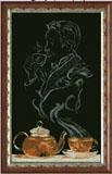 """Набор для вышивания """"Чайная фантазия - он 1"""" Краса и творчество 70513 (крестик)"""