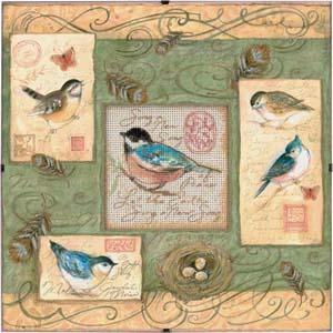 """Набор для вышивания DIMENSIONS """"Птички и завитки"""" DMS-73526 (крестик)"""