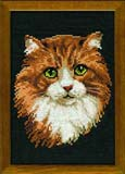 """Рыжий кот"" Риолис 765 (крестик)"