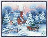 """Набор для вышивания """"Накануне Рождества"""" Риолис  СС-100/041 (крестик)"""
