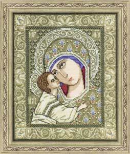 """""""Богоматерь Игоревская"""" Риолис 829 (крестик)"""