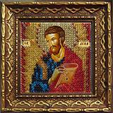 """Набор для вышивания бисером """"Св.Апостол и Евангелист Лука"""" Вышивальная мозаика 2132ДПИ"""