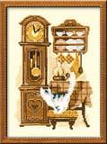 """""""Часы"""" Риолис 858 (крестик)"""