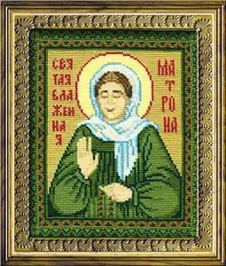 """Набор для вышивания """"Святая Блаженная Матрона"""" Риолис 876 (крестик)"""