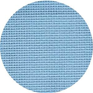 Канва 851 (613/13) мелкая цв.голубой 177  40х50 см