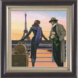 """Набор для вышивания """"Аромат вечернего Парижа"""" Краса и творчество 91011 (крестик)"""