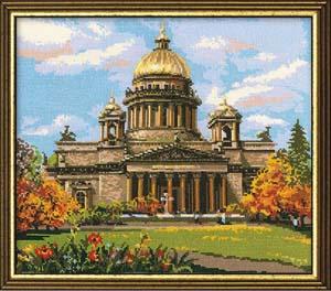 """""""Исаакиевский собор"""" Риолис 923 (крестик)"""