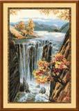 """""""Водопад"""" Риолис 974 (крестик)"""