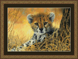 """Набор для вышивания """"Маленький гепард"""" Kustom Krafts 98657 (крестик)"""